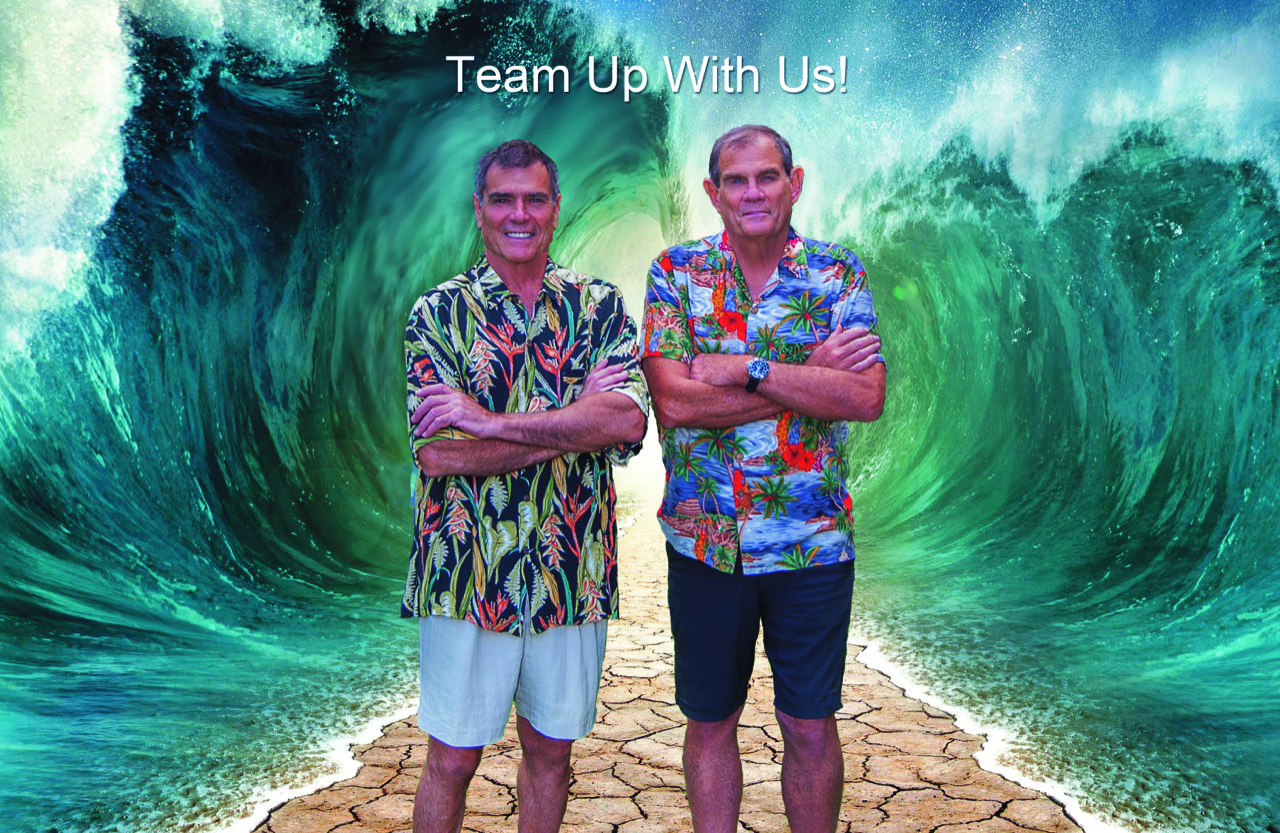 Chad Deal and Bill Gillette of Kauai Tropical Properties, Inc. 'Team Up with Us!'
